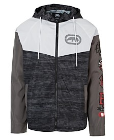 Ecko Unltd Men's Blocked Remix Windbreaker