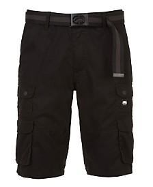 "Ecko Unltd Men's Mini Stacked 19 Cargo Short 12"""