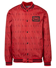 Men's Eu Stripe Aop Varsity Windbreaker