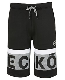Ecko Unltd Men's Brand Of The Bold Knit Short