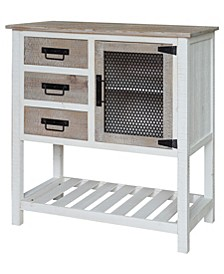 Farmington Three Drawer One Door Cabinet