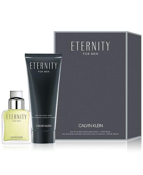 Calvin Klein Men's 2-Pc. Eternity For Men Eau de Toilette Gift Set
