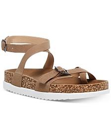 Madden Girl Garnett Strappy Footbed Sandals