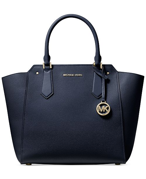 Michael Kors Hayes Pebble Leather Tote