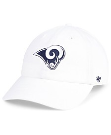 '47 Brand Los Angeles Rams CLEAN UP Strapback Cap