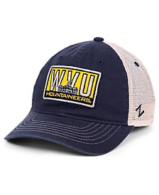 Zephyr West Virginia Mountaineers Vista Mesh Snapback Cap