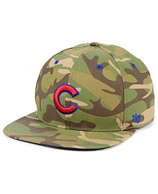 '47 Brand Chicago Cubs Blockade Strapback Cap