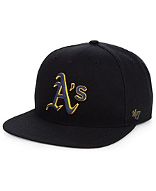 Oakland Athletics Iridescent Snapback Cap