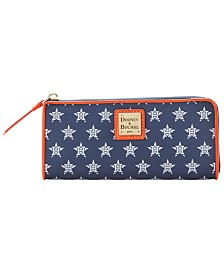 Dooney & Bourke Houston Astros Zip Clutch