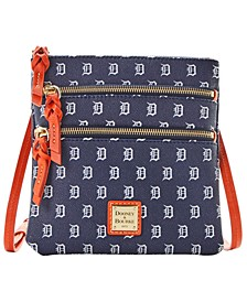Detroit Tigers North South Triple Zip Purse