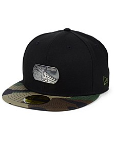 Los Angeles Dodgers Dog Tag 59FIFTY-FITTED Cap