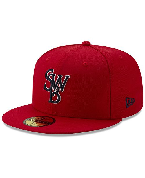 New Era Scranton Wilkes-Barre RailRiders Theme Nights 59FIFTY Fitted Cap