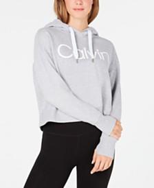 Calvin Klein Performance Logo Fleece Hoodie