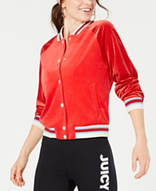 Juicy Couture Graphic Bomber Jacket