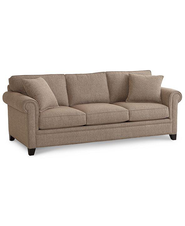 "Furniture Banhart 90"" Fabric Sofa, Created for Macy's"