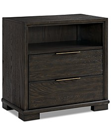 Morgan USB Nightstand, Created for Macy's