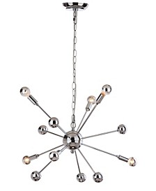 "Matrix Sputnik 6 Light 24.75""D Pendant"