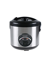 TRSC-10 Stainless Steel Rice Cooker Food Steamer 10 Cup