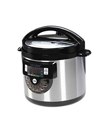 Tayama TMC-60XL 8 in 1 Multi-Function Pressure Cooker 6 Quart