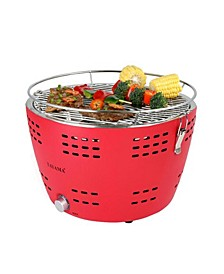 TYQ-001 Portable Charcoal Grill in Red