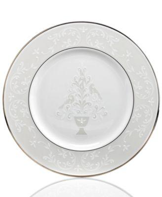 Opal Innocence Accent Plate  sc 1 st  Macyu0027s & Lenox Opal Innocence Collection - Fine China - Macyu0027s