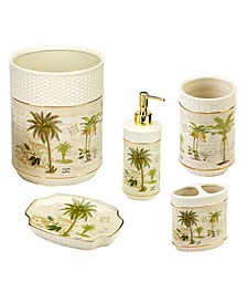 Colony Palm 5-Pc. Bath Accessory Set