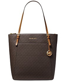 MICHAEL Michael Kors Voyager Signature North South Tote