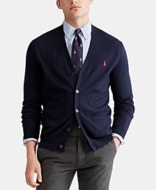 Men's Cotton Cardigan Sweater