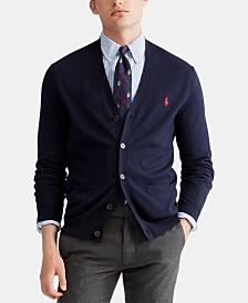Polo Ralph Lauren Men's Pima Cardigan Sweater
