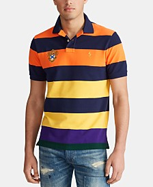 Polo Ralph Lauren Men's Tri-Tonal Mesh Polo Shirt