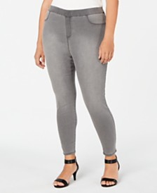 Style & Co Plus Size Pull-On Jeggings, Created for Macy's