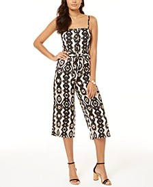 INC Smocked Bodice Jumpsuit, Created for Macy's