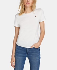 Volcom Juniors' Cotton Logo-Print T-Shirt
