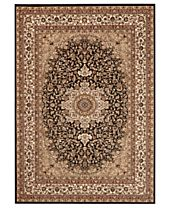 CLOSEOUT! KM Home Rugs, Princeton Ardebil Black