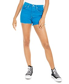 501 Colored Denim Shorts