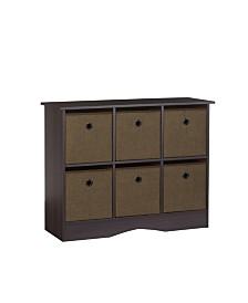 RiverRidge Home 6-Cubby Storage Cabinet