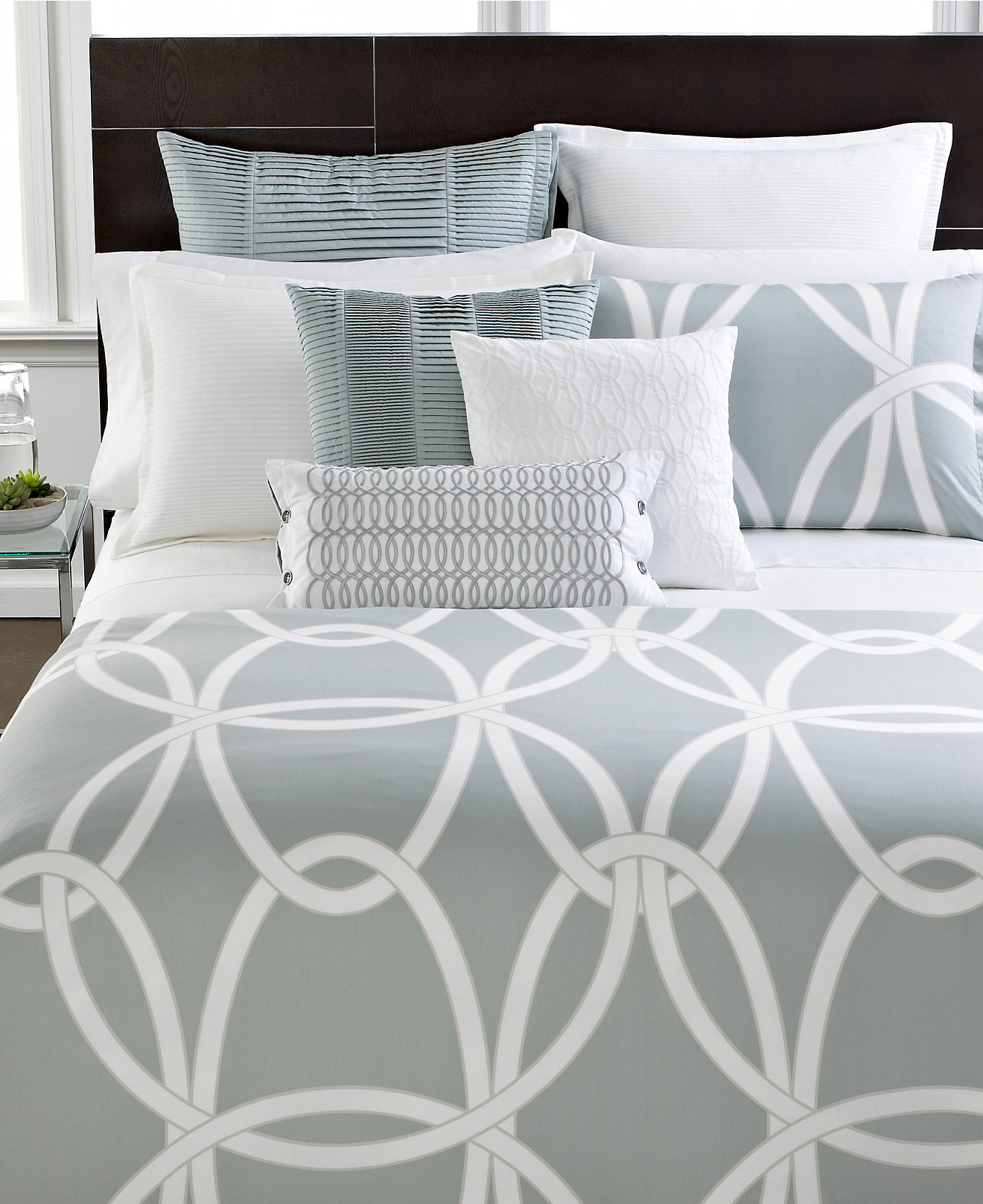 Macy Bedroom Furniture Closeout Closeout Hotel Collection Modern Gate Bedding Collection Only At
