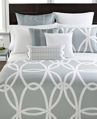 Closeout Hotel Collection Modern Gate Bedding Collection