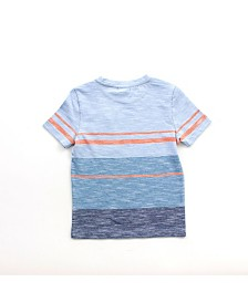 Toddler Boy Short Sleeve Henley Tee