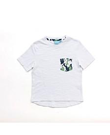 Toddler Boys Short Sleeve Pocket Tee