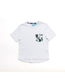 Toddler Boy Short Sleeve Pocket Tee
