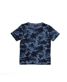 Bear Camp Toddler Boy Printed Short Sleeve Tee