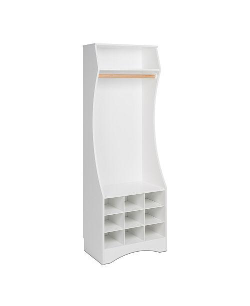 Prepac  Compact Wardrobe with Shoe Storage
