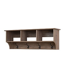 "Prepac 48"" Wide Hanging Entryway Shelf"