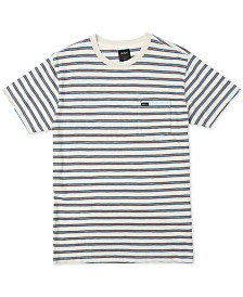 RVCA Men's Vincent Yarn-Dyed Stripe T-Shirt