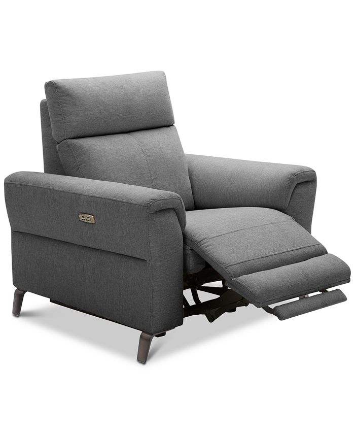 """Furniture - Raymere 41"""" Fabric Power Motion Recliner"""
