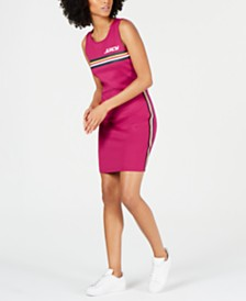 Juicy Couture Striped Bodycon Dress