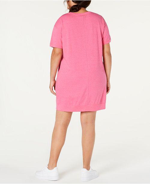 Plus Size Sportswear Gym Vintage Dress