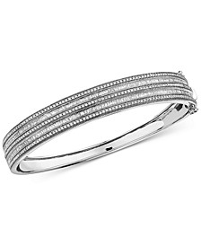 EFFY® Diamond Bangle Bracelet (1-1/2 ct. t.w.) in 14k White Gold