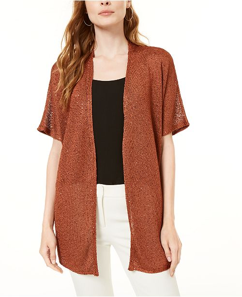 INC International Concepts INC Sequin Cardigan, Created for Macy's